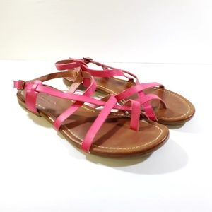 American Eagle Outfitters Sandals Pink Sz 8